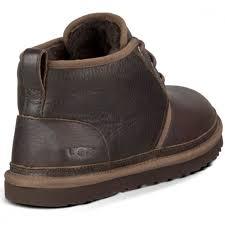 ugg australia men s neumel leather boots china tea