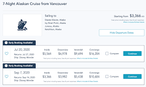 Disney Cruise Lines Summer 2020 Sailings A Look At