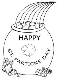 Traditionally, those who are caught not wearing green on st patrick's day are pinched, usually affectionately! Free Printable St Patrick S Day Coloring Pages