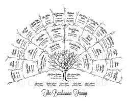 Genealogy Family Tree Forms Printable Family Tree Fan Chart Download Them Or Print