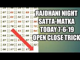 Videos Matching Kalyan Satta Matka Today 6 6 19 Open To