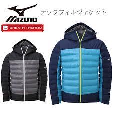 mizuno mizuno bless thermo tec fill jacket mens warm winter outerwear e5641