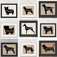 prev on wall art lovers with puggle pug beagle love an unframed burlap or canvas wall art