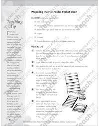 File Folder Pocket Chart Phonics Poems Long A Printable