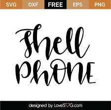 Jump to navigation jump to search. Free Shell Phone Svg Cut File Lovesvg Com