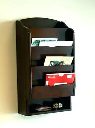 wall mounted mail holders wall mounted organizer mail holders for wall mail holder organizer wall wall