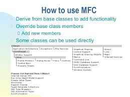 Mfc Hierarchy Chart Introduction To_mfc