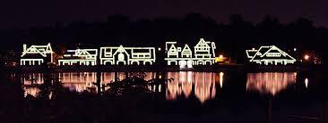Boathouse Row Eagles Lights File Boathouse Row At Night Jpg Wikimedia Commons