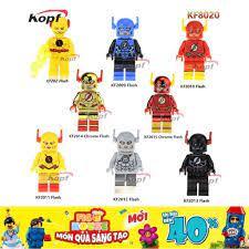 Minifigures Siêu Anh Hùng The Flash KF8020 - Đồ Chơi Lắp Ráp [A28] giảm chỉ  còn 16,910 đ