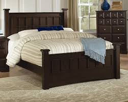 Cappuccino Finish Transitional Bedroom Set WOptions - Transitional bedroom