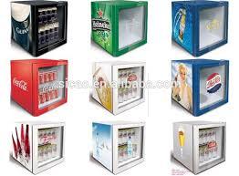 compressor glass display desktop mini fridge wine beer drinks showcase small fridge oem logo
