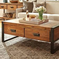 coffee table with drawers rustic coffee table with drawers esme coffee table with two drawers white