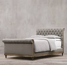 DiY Faux Tufted Upholstered Headboard Chesterfield Bedrooms and