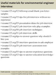 top  environmental engineer resume samples       useful materials for environmental engineer