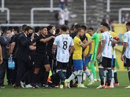 Brazil v Argentina abandoned as health ...