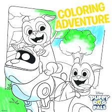 Coloring Pages Free Printable New Puppy Dog Pals Coloring Pages To