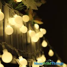 Round Warm White Christmas Lights Pin On Beach House
