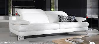 nice white italian leather sofa sofas italian leather