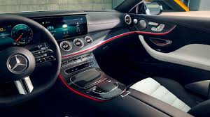 Although dressed in camouflage, we can figure out most interiors remain as spacious as before. Mercedes Benz E Class Coupe Comfort