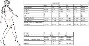 Liz Lange Maternity Size Chart For Target
