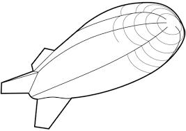 Luchtschip Kleurplaat Gratis Kleurplaten Printen