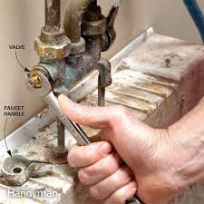 fix a leaking faucet