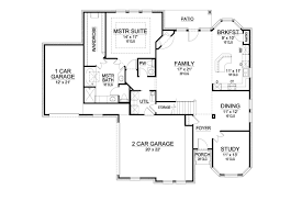 The House Designers Home Plans Socorro 9055 4 Bedrooms And 3 Baths The House Designers