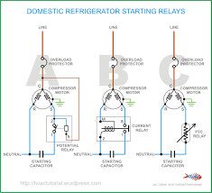 air conditioning relay wiring diagram domestic refrigerator starting relays hermawan s blog domestic refrigerator starting relays