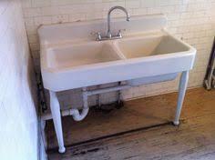 antique cast iron farm farmhouse vintage apron kitchen sink legs