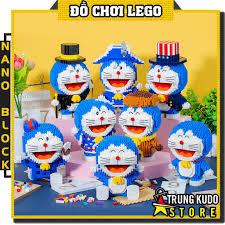 Lego Doremon - Đồ Chơi Xếp Hình Doremon Nano Block Lắp Ráp 8 Mô Hình Doremon  Khác Nhau chính hãng 162,800đ