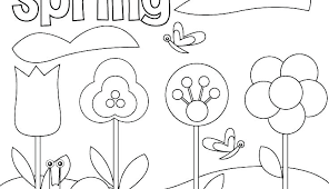 Spring Coloring Pages Free Printable Color Sheets For Spring