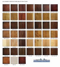 Wood Furniture Stain Color Chart Impressive Wood Finish Colors 5 Cabinet Wood Stain Color