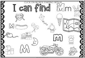 You are not required to register in order to use this site. M Sound Phonics Worksheet