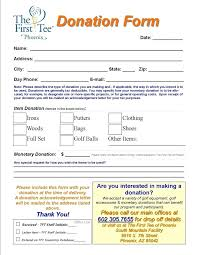 Fundraiser Pledge Form Template Pledge Form Template Pdf Sample Free Donation Form Template