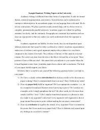 Academic Essay Examples Academic Goals Essay Sample Www Moviemaker Com