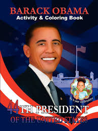 Small Picture Barack Obama Activity Coloring Book English and Spanish Edition