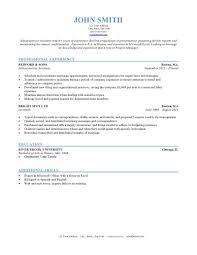 Resume Formating Resume Formats Jobscan Chronological Sample