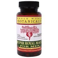 Whole World Botanicals, Super <b>Royal Maca For Men</b>, 500 mg, 90 ...