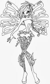 Disegni Da Colorare Di Winx Enchantix