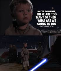 Luke Skywalker Quotes Enchanting Master Skywalker There Are Too Many Of Them Scattered Quotes