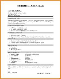 Resume Format For Teacher Job 24 Resume Format For Teaching Job In School Manager Resume 10