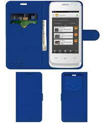 Celkon A15 Flip Cover by ACM - Blue ...