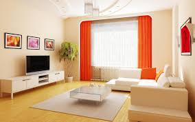 Orange Curtains For Living Room Living Room Gold Curtain Large Glass Windows Round Curved