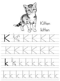 Letter K Worksheets Alphabet Do A Dot A Do A Dot Letter K ...