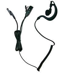 vertex vx radio accessories bodyguard earpiece for vertex vx829 2 wire earpiece microphone