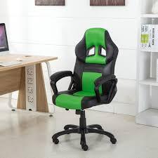 high back pu leather executive office desk race