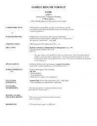 Charming Address On Resume 69 On Resume Sample with Address On Resume