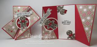 fold card diagonal gate fold card video dawn s stamping thoughts