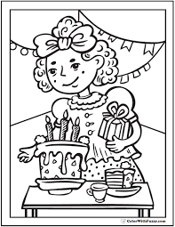 An active person should choose this invitation cards to use on his birthday because the card is brilliant as he is! 55 Birthday Coloring Pages Printable And Customizable