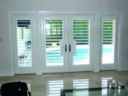 plantation shutter sliding glass door plantation shutters over sliding glass doors shutters for sliding glass doors
